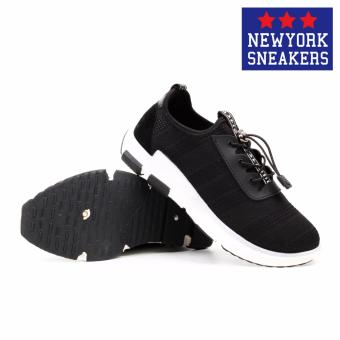 New York Sneakers Holly Rubber Shoes - K01(BLACK) - 3