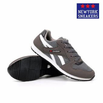 New York Sneakers Nolan Rubber Shoes(Grey/White) - 3