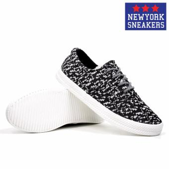 New York Sneakers Shae Low Cut Shoes(BLACK) - 5