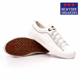 New York Sneakers Shenzh Low Cut Shoes 9929(WHITE) - 3