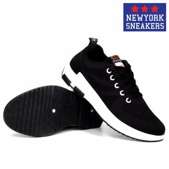 New York Sneakers Tony Rubber Shoes 6055(BLACK) - 3