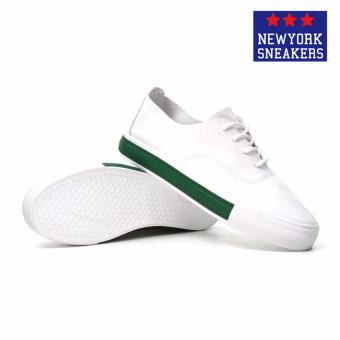 New York Sneakers Xinben Low Cut Shoes F81(WHITE/GREEN) - 3