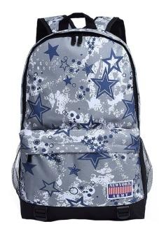 Newyork Army Atomic Stars Grey Backpack