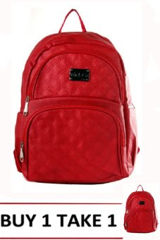 Nick Co A3003 Backpack (Red) BUY 1 TAKE 1