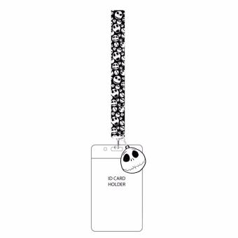 Nightmare Before Christmas Lanyard with Charm and ID Holder - picture 2