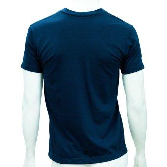 Omni By SO-EN Men's V-Neck T-Shirt (Navy Blue) - 2