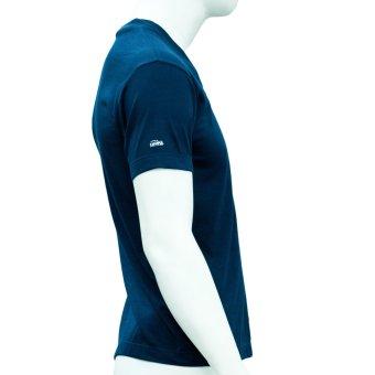 Omni By SO-EN Men's V-Neck T-Shirt (Navy Blue) - 4
