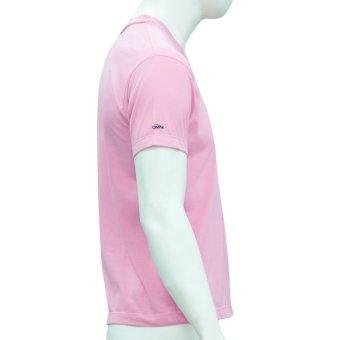 Omni By SO-EN Men's V-Neck T-Shirt (Pink) - 2