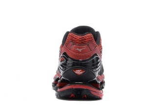 Original Mizuno Men's Wave Prophecy 5 Running Shoe Black/RedFashion Sports Breathable Casual Shoes - intl - 2
