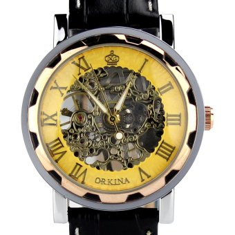 Orkina ORK-0148 Wrist Watch (Gold) - picture 2