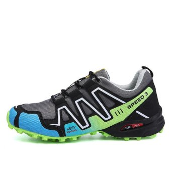 Outdoor Men's Anti-skid Light Soft Hiking Shoes - intl - 2