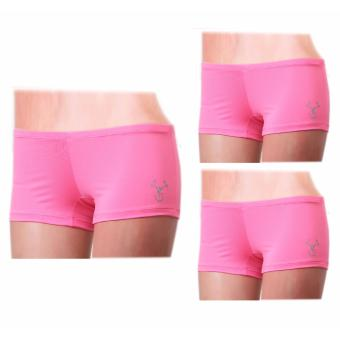 Outperformer Sports Micro Shorts with Dryperform and 3D ExtraStretch (Pink)