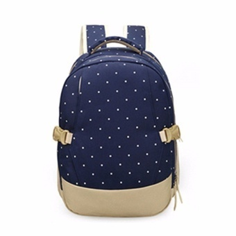Oxford Fabric Baby Kids Diaper Bag Nappy Changing Mother OutdoorPad Mummy Bag Backpack Shoulder Bag Milk Bottle Mommy Bag Baby CareSupplies - intl - 5