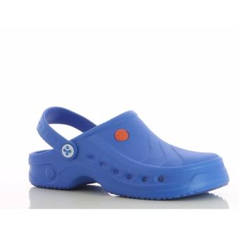 Oxypas SONIC (Blue) Unisex Clogs Shoes for Doctors, Nurses, Medical& Healthcare Professionals, Hospital, Chef, Kitchen, Spa,Laundry, Hotel, Beauty & Wellness Personnel - 2