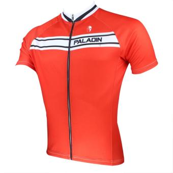 PALADINSPORT Men Cycling Short Jersey 029 (Red) - Intl - picture 2