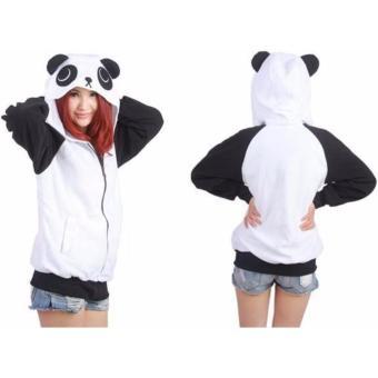 Panda Kigurumi Hoodie Jacket - 3