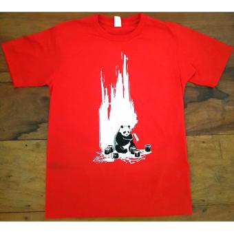 PANDA Tshirt Round Neck/Crew Neck, Graphic Tee Price Philippines