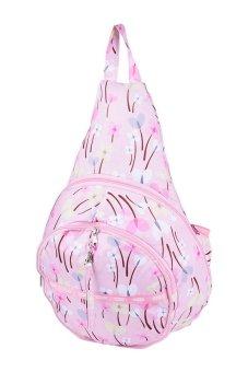 Parachute Rhapsody Empanada Backpack (Pink)