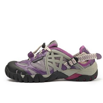 PATHFIDNER Women's Trail Sandals Waterproof Hiking Shoes LightMountain Climbing Shoes Wading Shoes-Purple - intl - 3