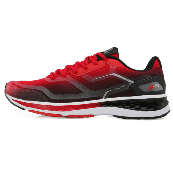Peak dh610007 breathable lightweight mesh wear men's shoes running shoes (Red/Black)