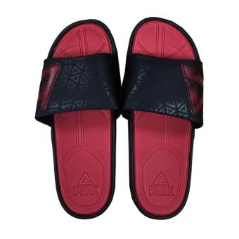 Peak Men's Basketball Sports Sandals [Black/Red] S20169BR