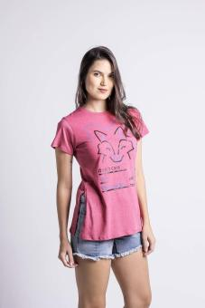 Penshoppe Casual Graphic Tee (Pink) - 3