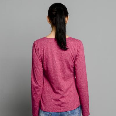 PENSHOPPE Piping Detailed Raglan Shirt (Magenta) - 3