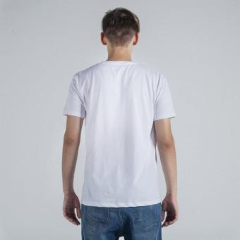 Penshoppe Semi Fit Tee (White) - 2