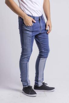 Penshoppe Skinny Fit Jeans (Blue) - 2
