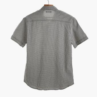 PH Basic By Kultura Mens Gingham Casual Shirt (Black) - 2