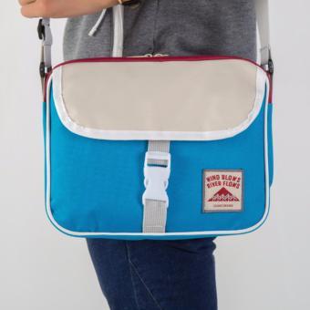 Pilot B-04 Korean Student Fashion Style Nylon Multifunctional Travel Shoulder Bag Cross Body Bag