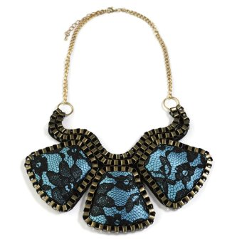 Pink Tequila 25543 Statement Necklace (Blue)