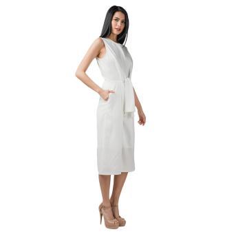 Plains & Prints Pearl Pantsuit (Offwhite) - 2