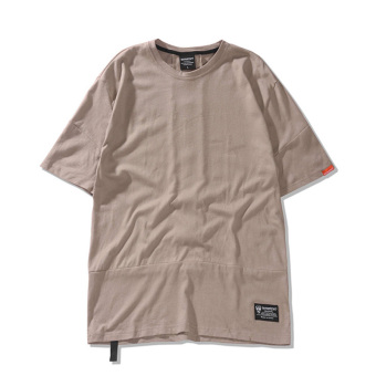Popular brand in Europe and America summer men's style cool T-shirt (Khaki) (Khaki)
