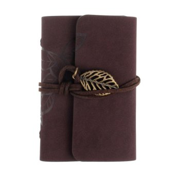 Practical Leather Business Credit ID Card Holder Coffee