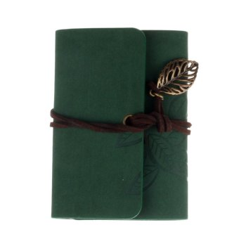 Practical Leather Business Credit ID Card Holder Green (EXPORT)
