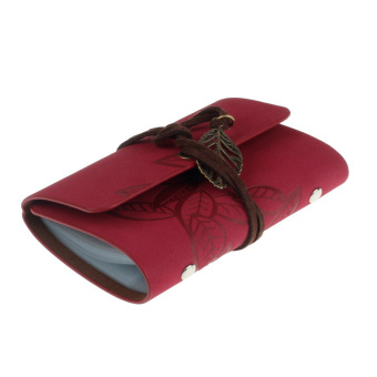 Practical Leather Business Credit ID Card Holder Red - picture 2