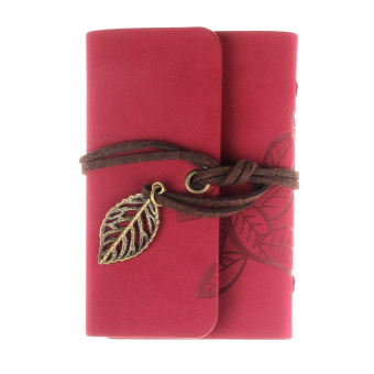Practical Leather Business Credit ID Card Holder Red