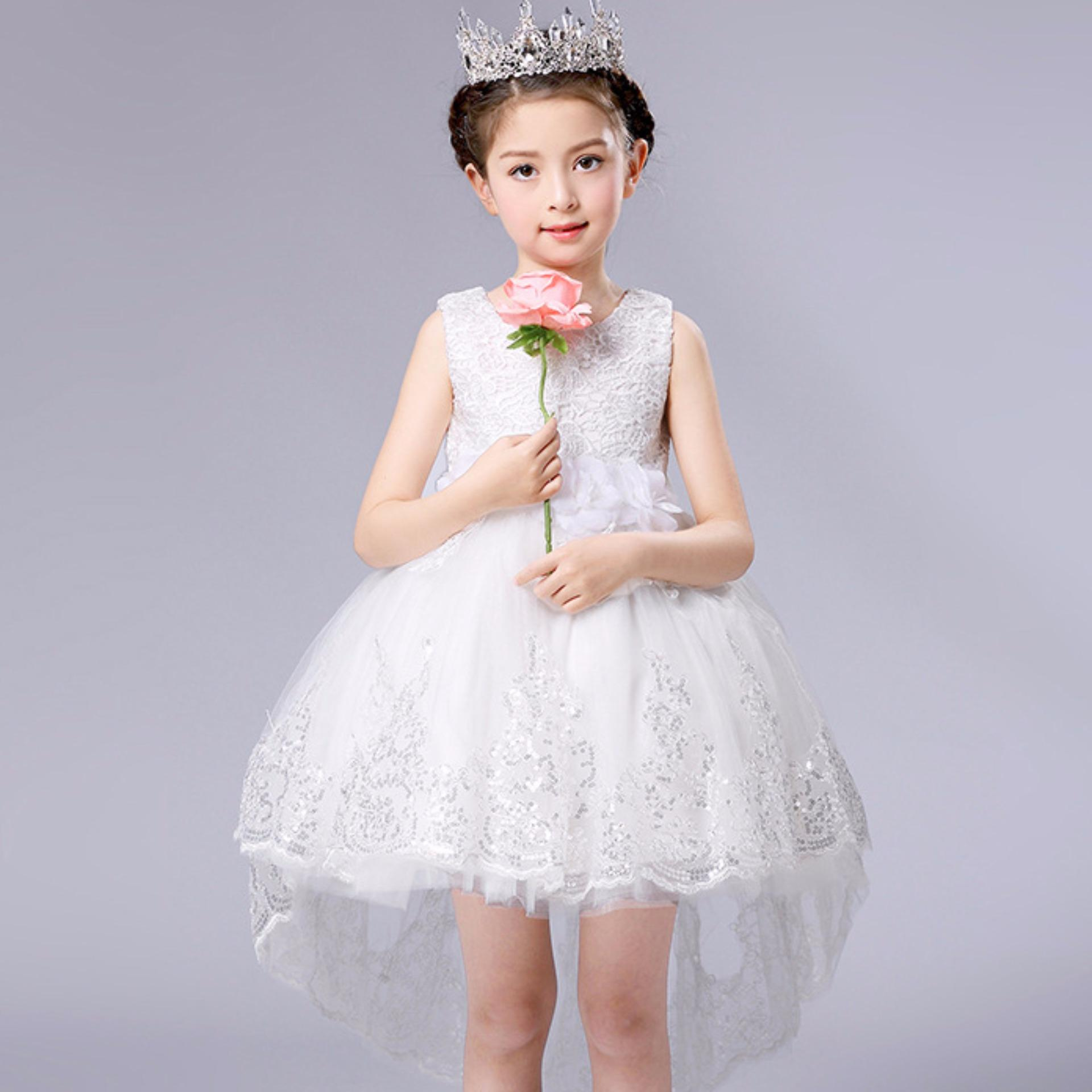 Philippines Princess Flower Girl Dress For Wedding Party