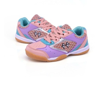 Professional Kids Badminton Shoes Boys and Girls Badminton Shoes Children's Tennis Shoes Fashion Sneakers Size 30-40 - intl - 5