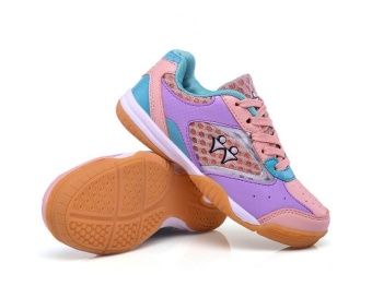 Professional Kids Badminton Shoes Boys and Girls Badminton Shoes Children's Tennis Shoes Fashion Sneakers Size 30-40 - intl - 2