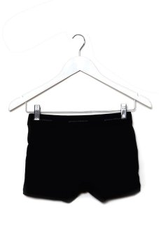 Puritan Men's Stretch Boxer Brief (Black) - picture 2