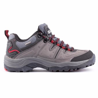 Quota Trekker Shoes Grey/Red - 3