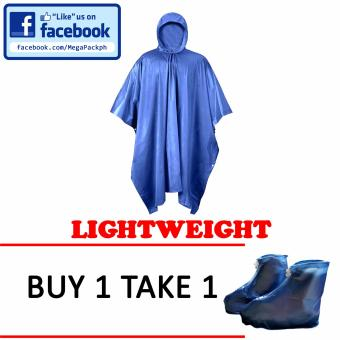 Rain Coat Poncho (Blue) Price Philippines