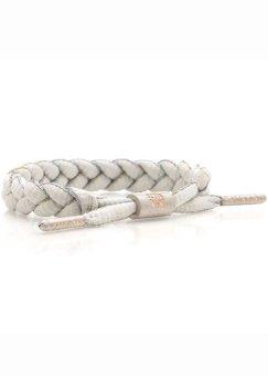 RASTACLAT Shoelace Bracelet Aucaug (Light Grey/Multi)