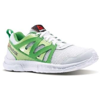 Reebok Run Supreme 2.0 Mt Running Shoes (White/Luminous Lime/BrightGreen)