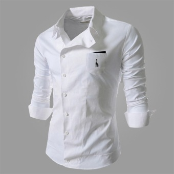 Reverieuomo CS36 Single-breasted Shirt (White) - 4