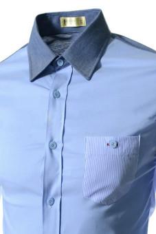 Reverieuomo CS39 Single-Breasted Shirt Sky Blue