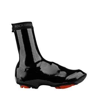 RockBros Cycling Shoe Cover Warm Windproof Waterproof PU Protector Overshoes - intl - 2