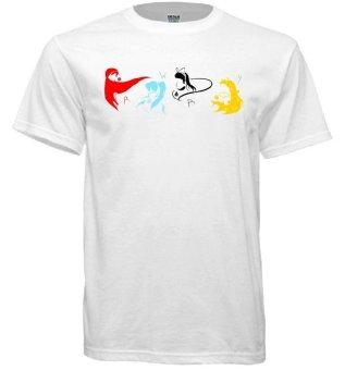 RWBY Inspired Team RWBY T-shirt (White)